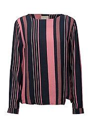 Joslyn blouse - STRIPED PRINT