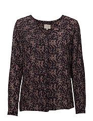Lindsey shirt - CONFETTI PRINT BLACK IRIS