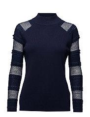 Esma pullover - BLACK IRIS