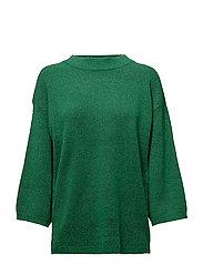 Pil pullover - GRASS GREEN MELANGE