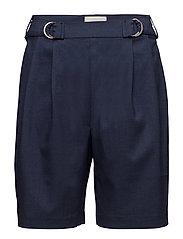 Beate shorts - BLACK IRIS