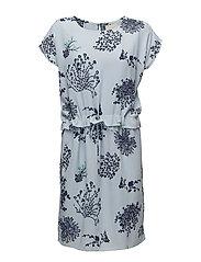 Josina dress - FLOWER STORM PRINT