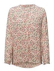 Elvine shirt - PINK FLOWER PRINT