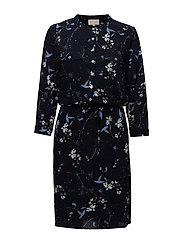 New Elian dress - LARGE FLOWER PRINT