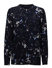 New Elian blouse - LARGE FLOWER PRINT
