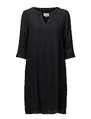 Refna dress - BLACK IRIS