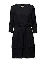 Spora dress - BLACK IRIS