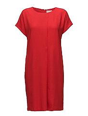 Roja dress - FIRE RED