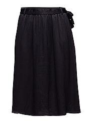 Agnete skirt - BLACK IRIS