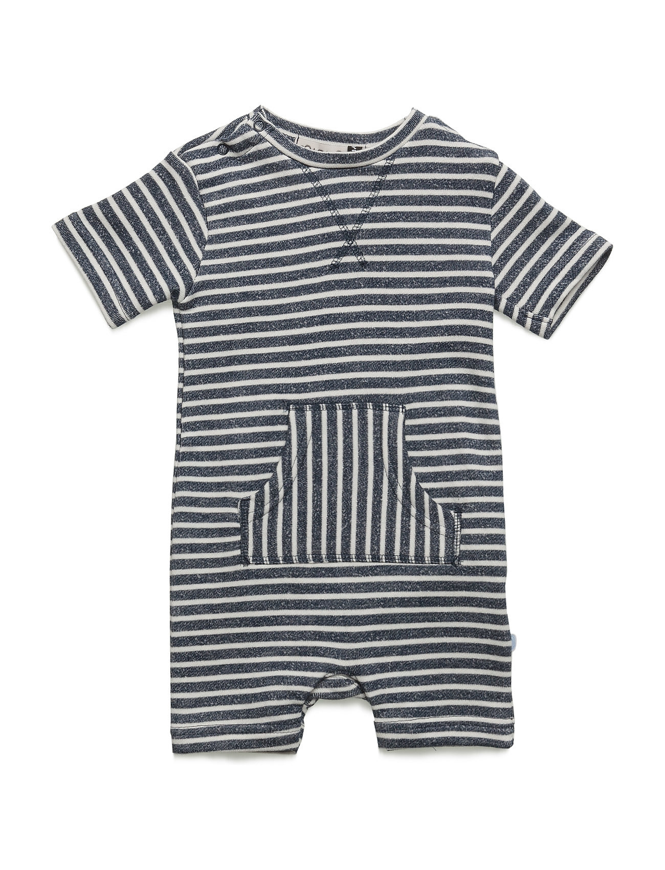 Kim 82 - Playsuit Y/D Striped Minymo Langærmede bodies til Børn i Dress Blues