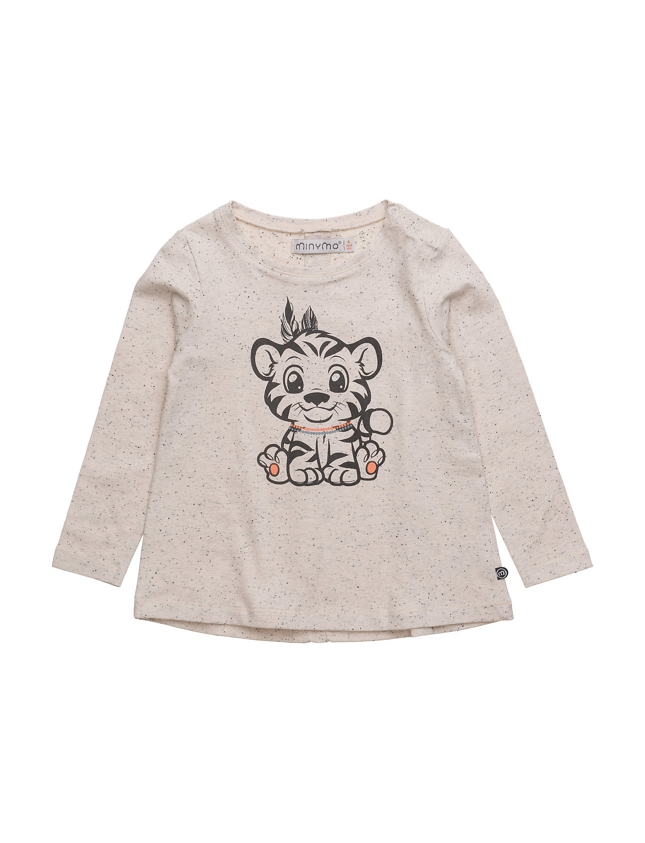 Julia 33 -T-Shirt Ls W. Tiger Minymo T-shirts til Piger i