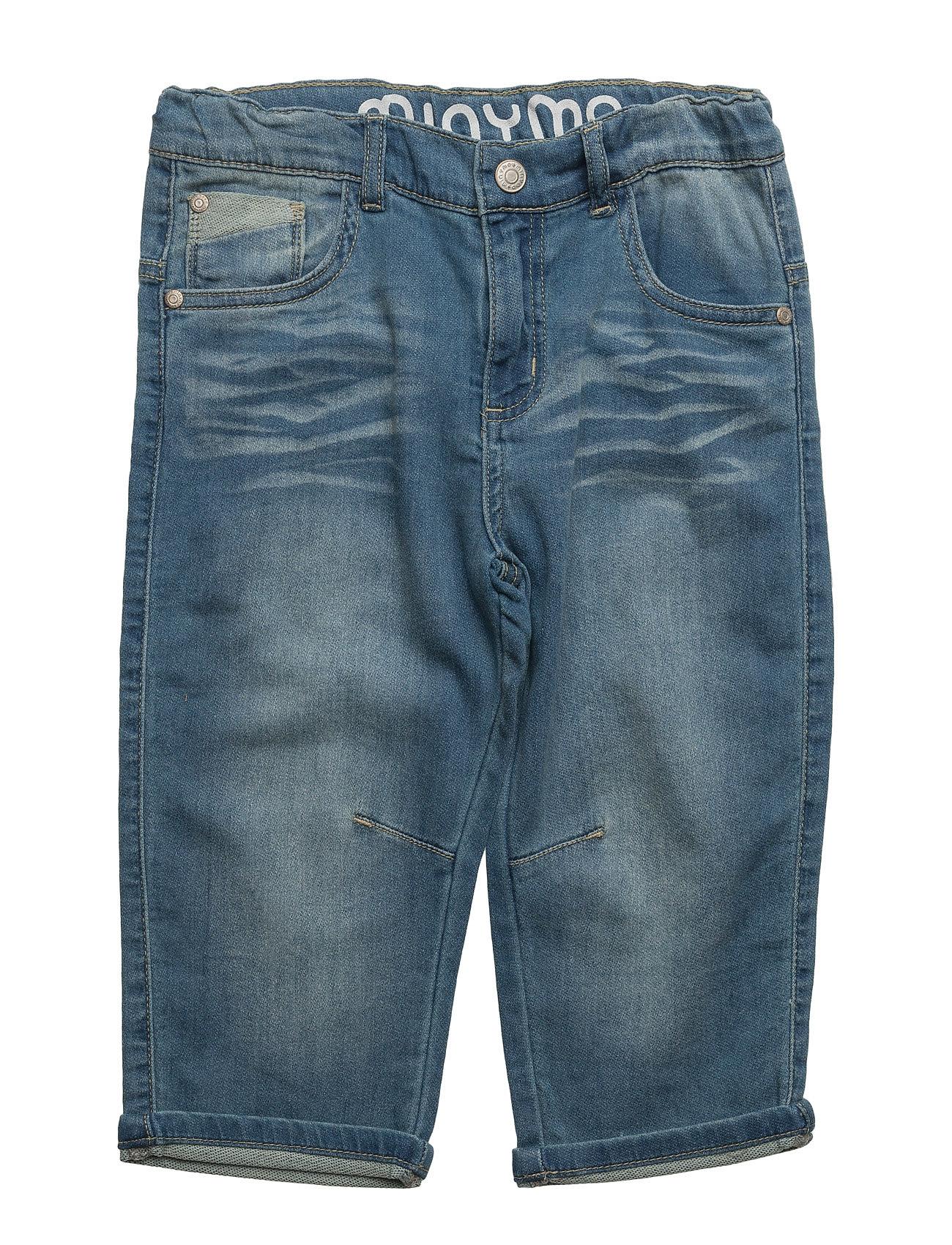 Kirk 92 - Jeans 3/4 Knit Denim Minymo  til Børn i