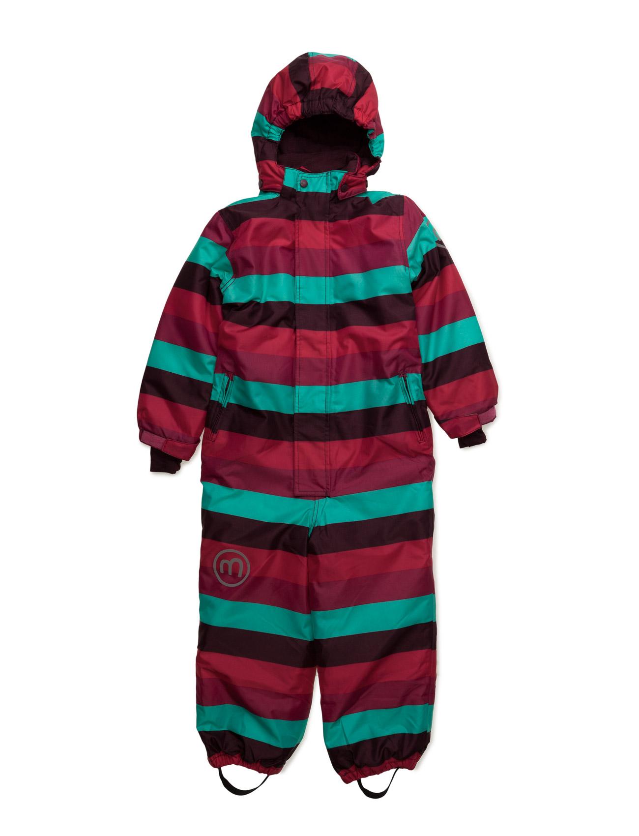 Gam 17 -Snow Suit -Aop Minymo Overalls til Børn i