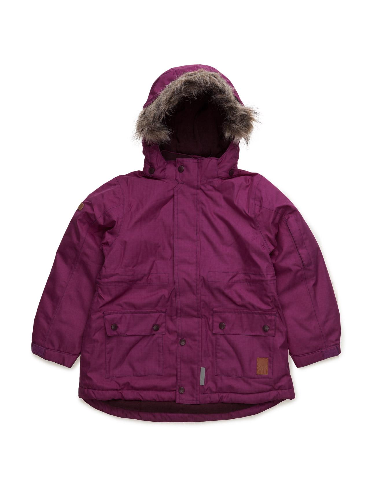 Gam 19 -Snow Jacket -Herringbo Minymo Jakker & Frakker til Børn i