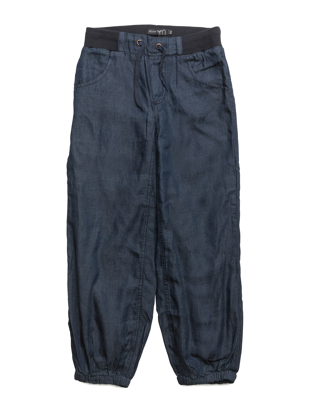 Baggy Denim Pant -Boy Minymo Bukser til Drenge i Mørkeblå
