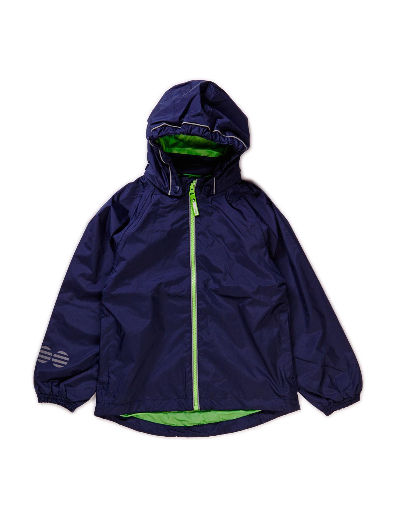 Raincoat, Breathable Minymo Regntøj til Børn i Mørk Navy
