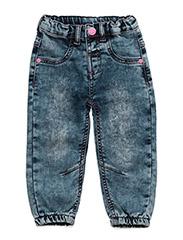 Fida Pants knit denim - CAMELLIA ROSE
