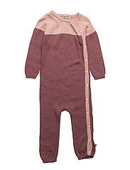 71 - Knit suit - MISTY ROSE