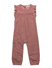 73 - Overall -corduroy - ROSE BROWN