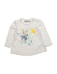 Hope Tshirt w. rabbit - MARSHMALLOW WHITE