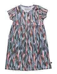 45 -Dress SS w. aop - LEAD