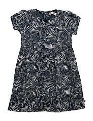 86 -Dress w. aop - DRESS BLUES