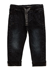 Hugin Jeans knit denim - DEEP BLUE DENIM