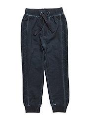 52 - Sweat Pants w.stitch - DARK NAVY
