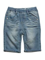 89 - Jeans 3/4 knit denim - FRESH BLUE DENIM
