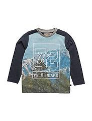 02 -T-Shirt LS Photoprint - BLUE NIGHTS