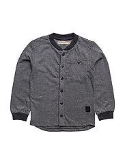 12 - Shirt LS sweat - BLUE NIGHTS