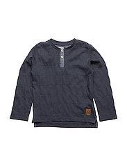 47 - T-shirt LS grandad - OUTER SPACE