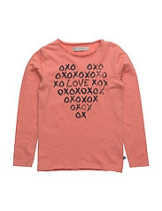 37 -T-shirt LS w. print - CRABAPPLE