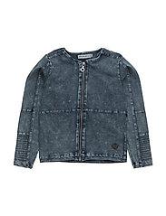 41 -Jacket knit denim - SKIPPER BLUE DENIM