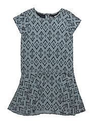 45 -Dress w. aop - LEAD