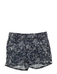 99 -Shorts w. aop - DRESS BLUES