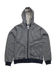 85 -Cardigan Y/D Striped - DRESS BLUES