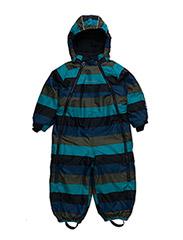 Gam 12 -Snowsuit -striped - DARK NAVY