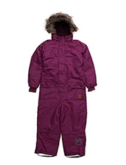 Gam 23 -Snow suit -Herringbone - DARK FUSCHIA