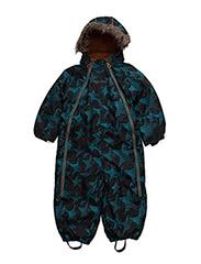 Gam 25 -Snow suit -AOP - DEEP STONE GREY