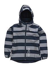 57 -Softshell jacket -AOP - DARK NAVY