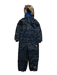 75 -Snow suit with AOP - NAUTICALBLUE
