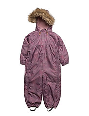 77 -Snow suit -AOP -Baby with 2 zippers - GRAPEADE