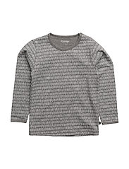 02 - T-shirt LS - GREY MELANGE