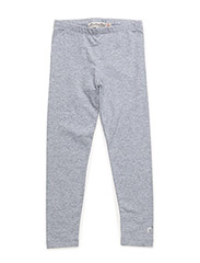 Basic Leggings -solid - LIGHT GREY MELANGE