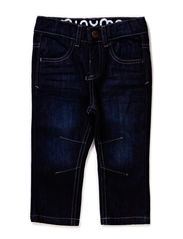 Jeans boy - Regular engineer - DARK BLUE DENIM