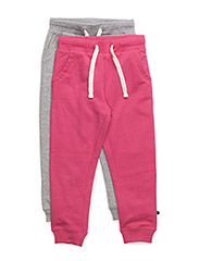 Basic Sweat pant (2-pack) - DARK PINK