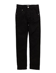 Basic 84 -Pants twill-slim - ANTHRACITE
