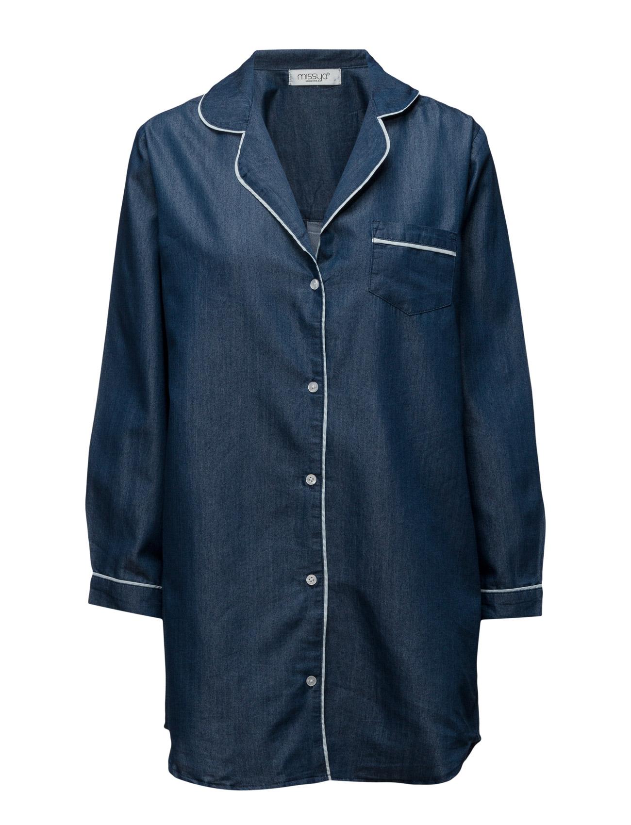 Natascha Long Shirt Missya Nattøj til Damer i