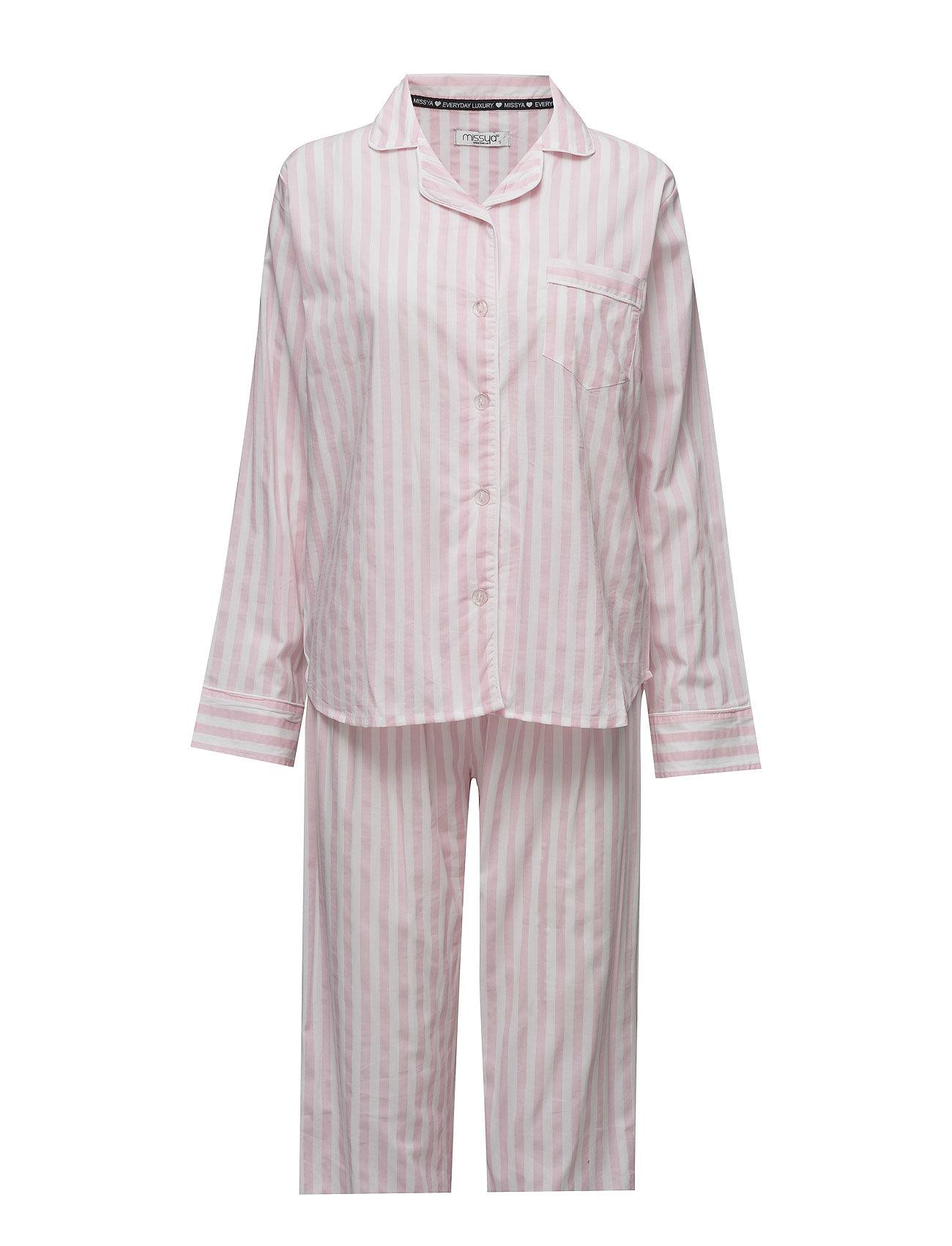 Raya Pyjamas W. Long Pants Missya Nattøj til Damer i Stripes